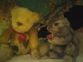 クマとリス