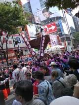 渋谷で祭り