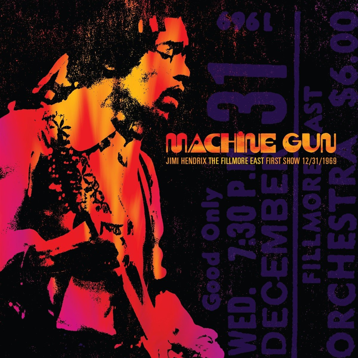 Jimi Hendrix Machine Gun: The Fillmore East First Show 12/31/69