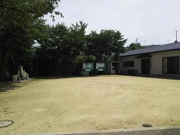山井神社旧社地