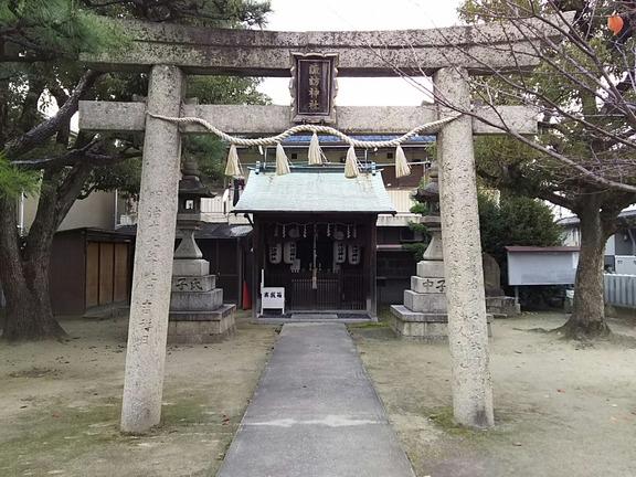 諏訪神社(船尾町西)