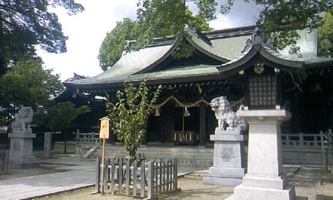 伴林氏神社 拝殿