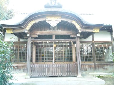 大津大神宮 拝殿