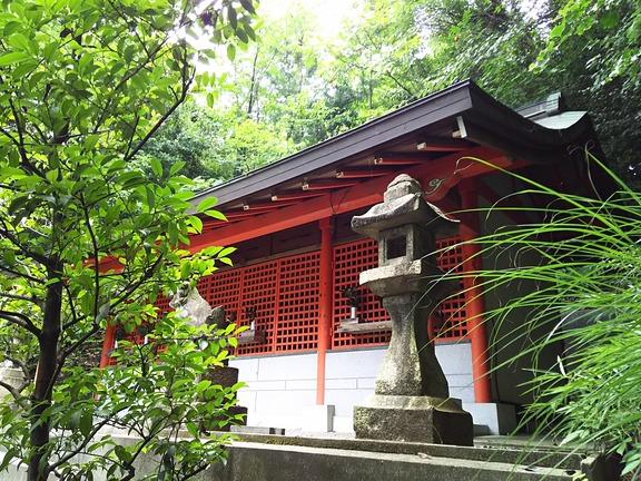 池之原神社 本殿