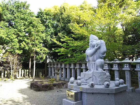 高龗神社 戎像