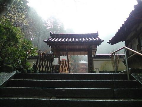 岩船寺 山門