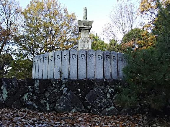 叡福寺 五字ヶ峯の宝篋印塔