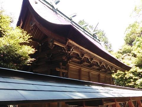住吉神社 本殿(背後)
