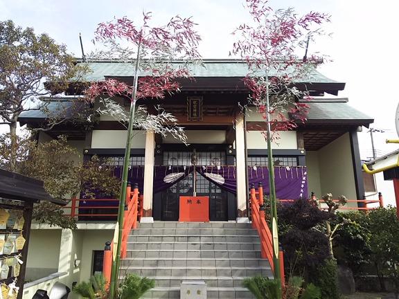 泉州磐船神社 拝殿