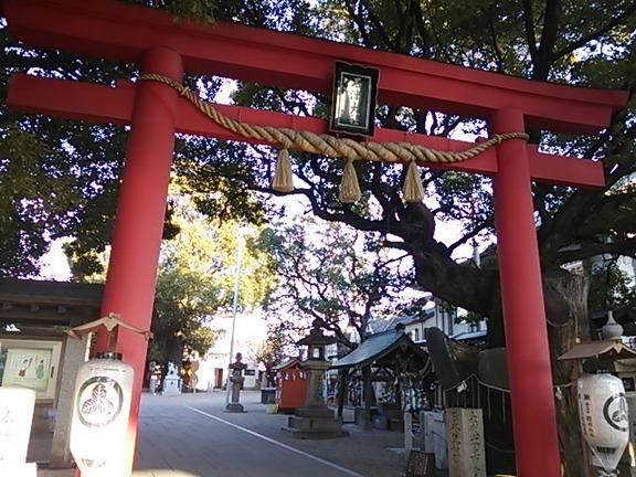 石津神社 鳥居