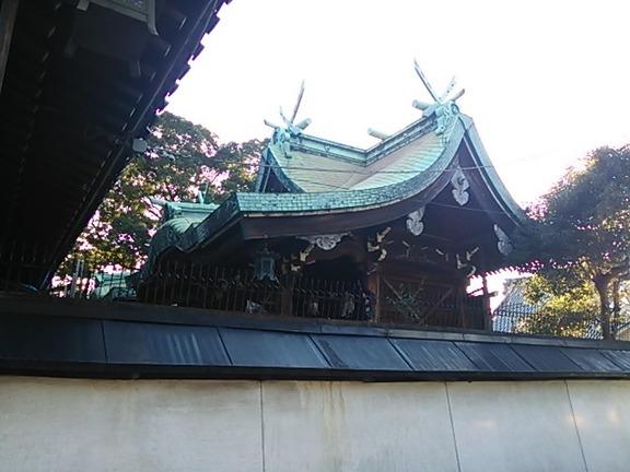 石津太神社 北本殿