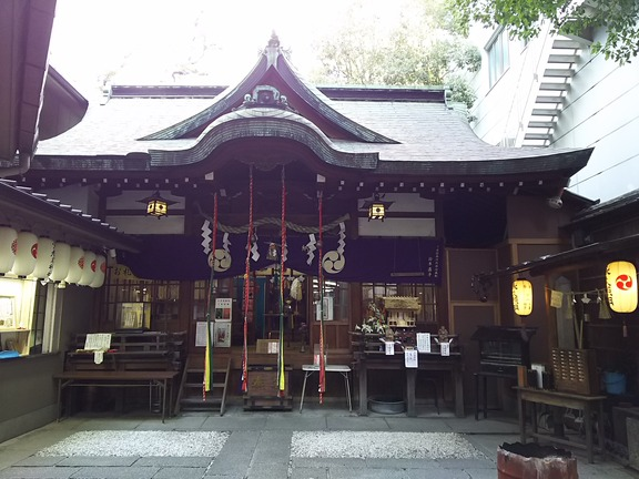 少彦名神社 拝殿