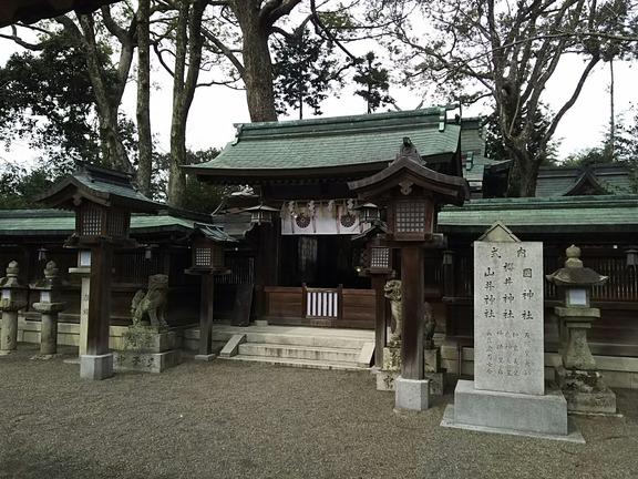 櫻井神社 中門