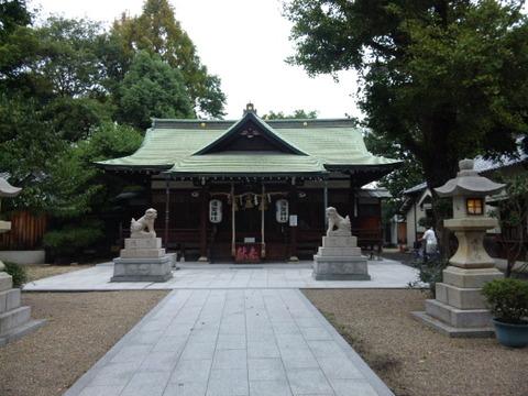 彌榮神社 拝殿