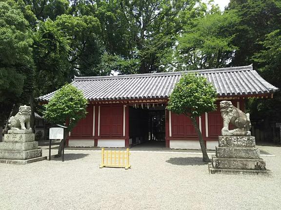 櫻井神社 拝殿