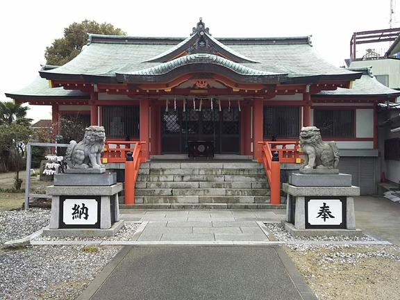 大物主神社 拝殿