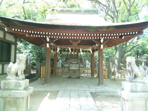 湊川神社末社 菊水天満神社