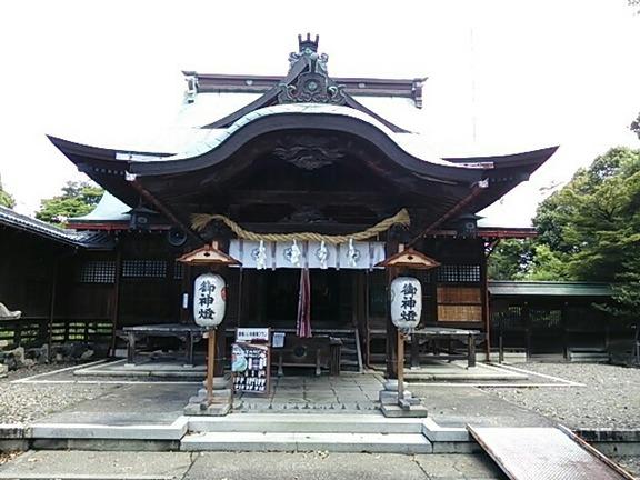千代神社 拝殿