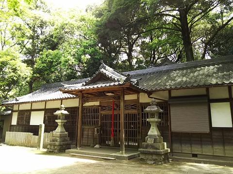 意賀美神社 拝殿