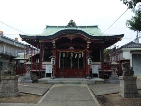 小坂神社 拝殿