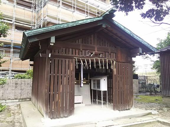 皇大神宮社末社 三社(住吉社・春日社・天満宮)