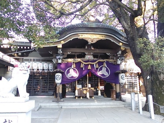 石津神社 拝殿