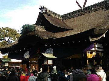 住吉大社 第三本宮拝殿