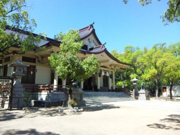 湊川神社 拝殿