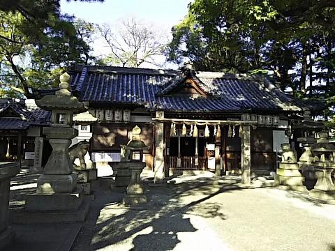 忠岡神社 拝殿