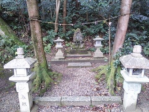 八幡神社 庚申碑