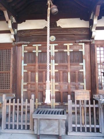 石津太神社 拝殿扉(南本殿)