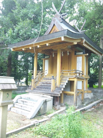 小杜神社 本殿(平成二十三年)