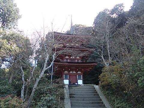 浄瑠璃寺 三重塔