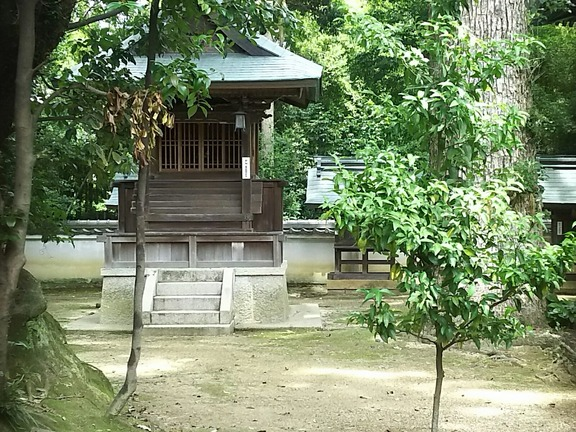 櫻井神社末社 山井神社