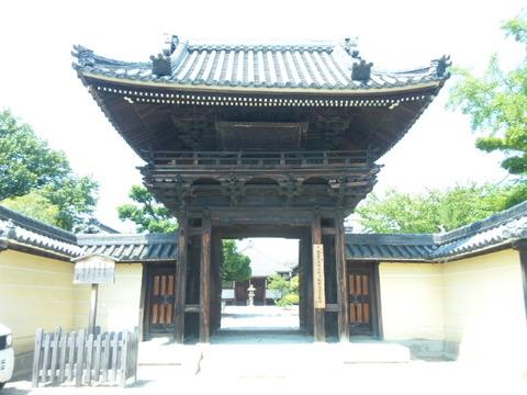 道明寺 楼門