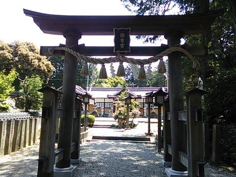 住吉神社 正面鳥居