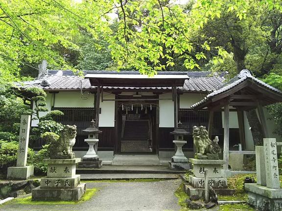 春日神社 拝殿