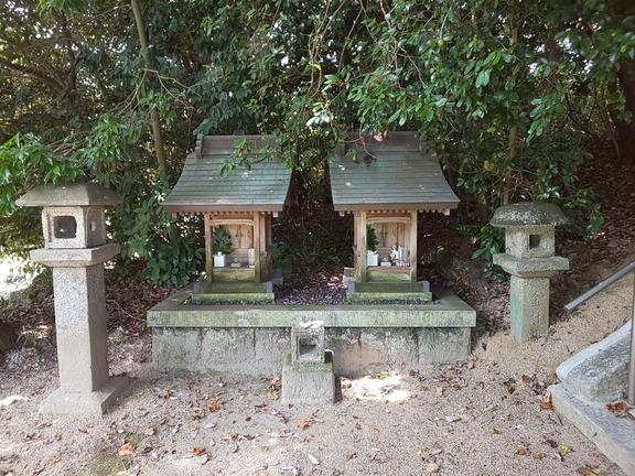 金村神社 末社二社