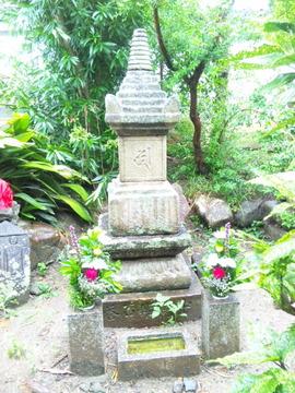 徳融寺 中将姫供養塔