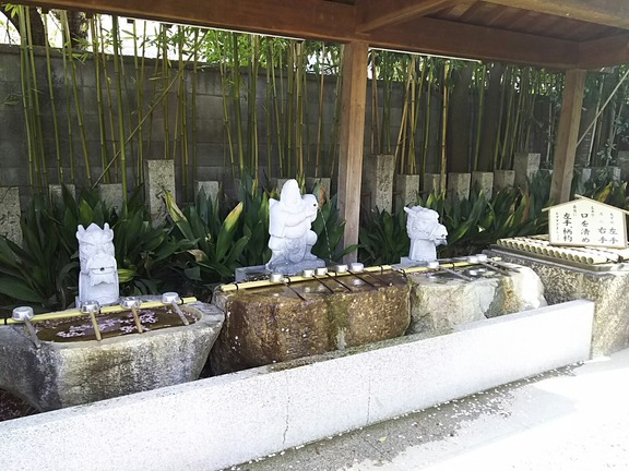 高龗神社 手水舎