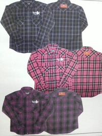 13MWチェックシャツ