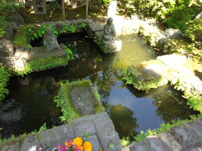 15鎌倉長谷寺卍池