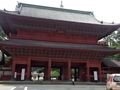 17増上寺門