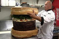 18 84kgハンバーガー