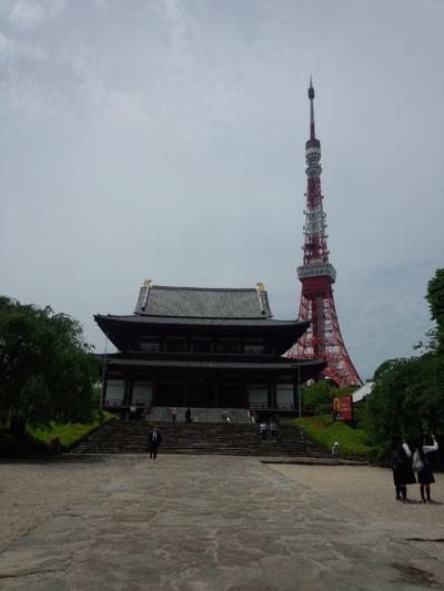 17増上寺とタワー