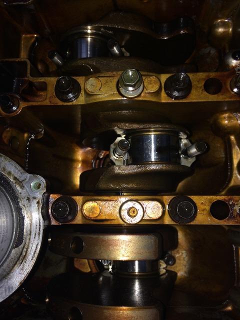 ジムニーJB23_K6A_コネクチングロッドキャップ2