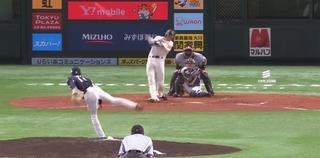 柳田ライトフェンス直撃のヒットは通算1000本安打