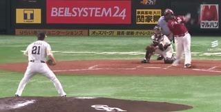 和田は7回ちょうど100球目を三振で
