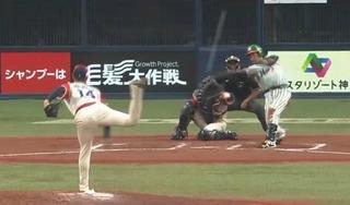 ついに出た松田の一発