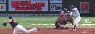 松田はこの試合2打席連続HR